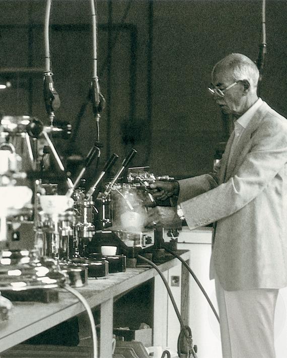 Elektra Espressomaschinen Gründung